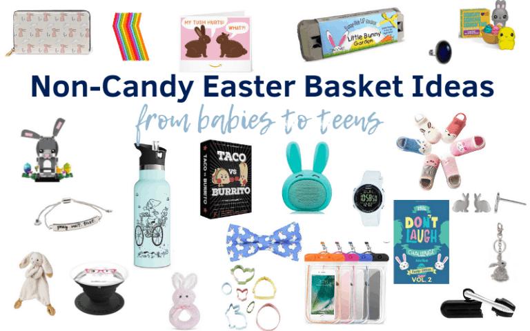 Over 450 Non-Candy Easter Basket Ideas
