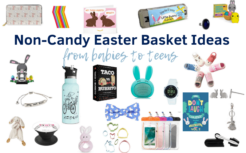 Over 450 Non-Candy Easter Basket Ideas