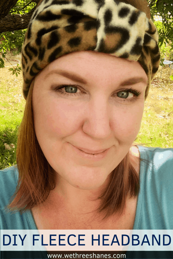 Want to make yourself some adorable ear warmers but don't sew? No worries! Learn how to make these cute DIY No Sew Fleece Ear Warmers and keep those ears warm during the colder months. It's an easy project with 3 styles to choose from!   We Three Shanes
