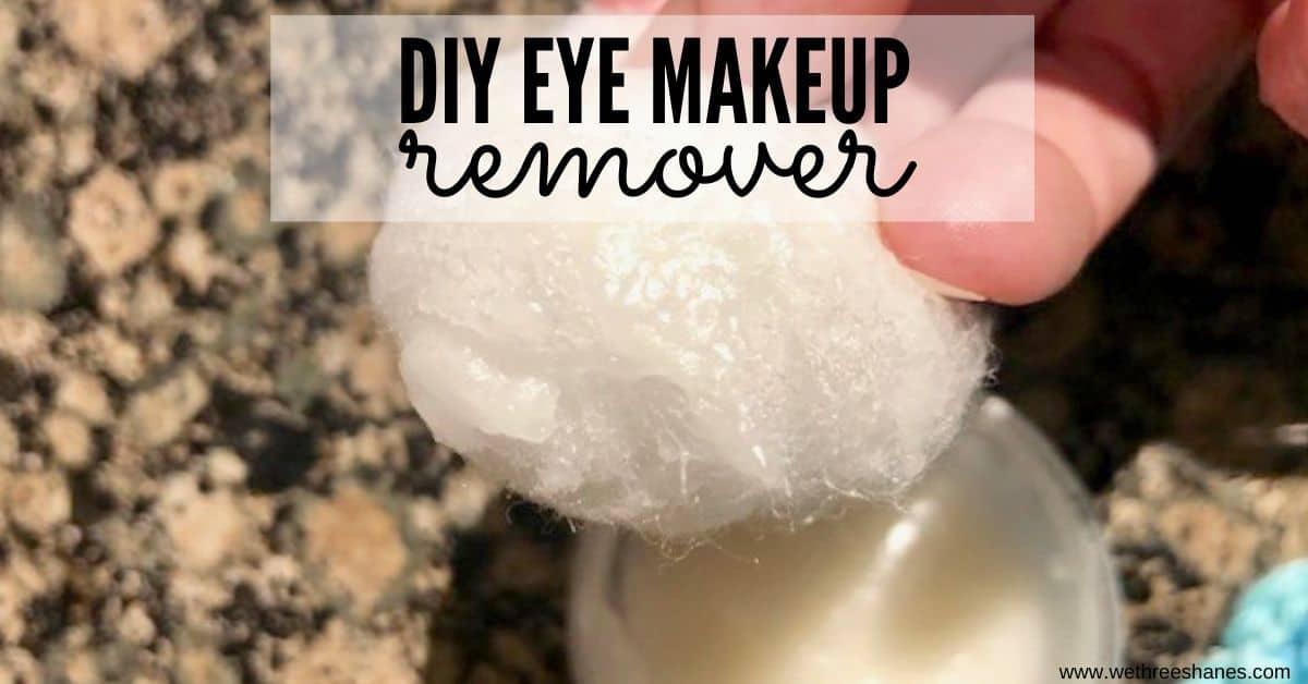 Natural DIY Eye Makeup Remover