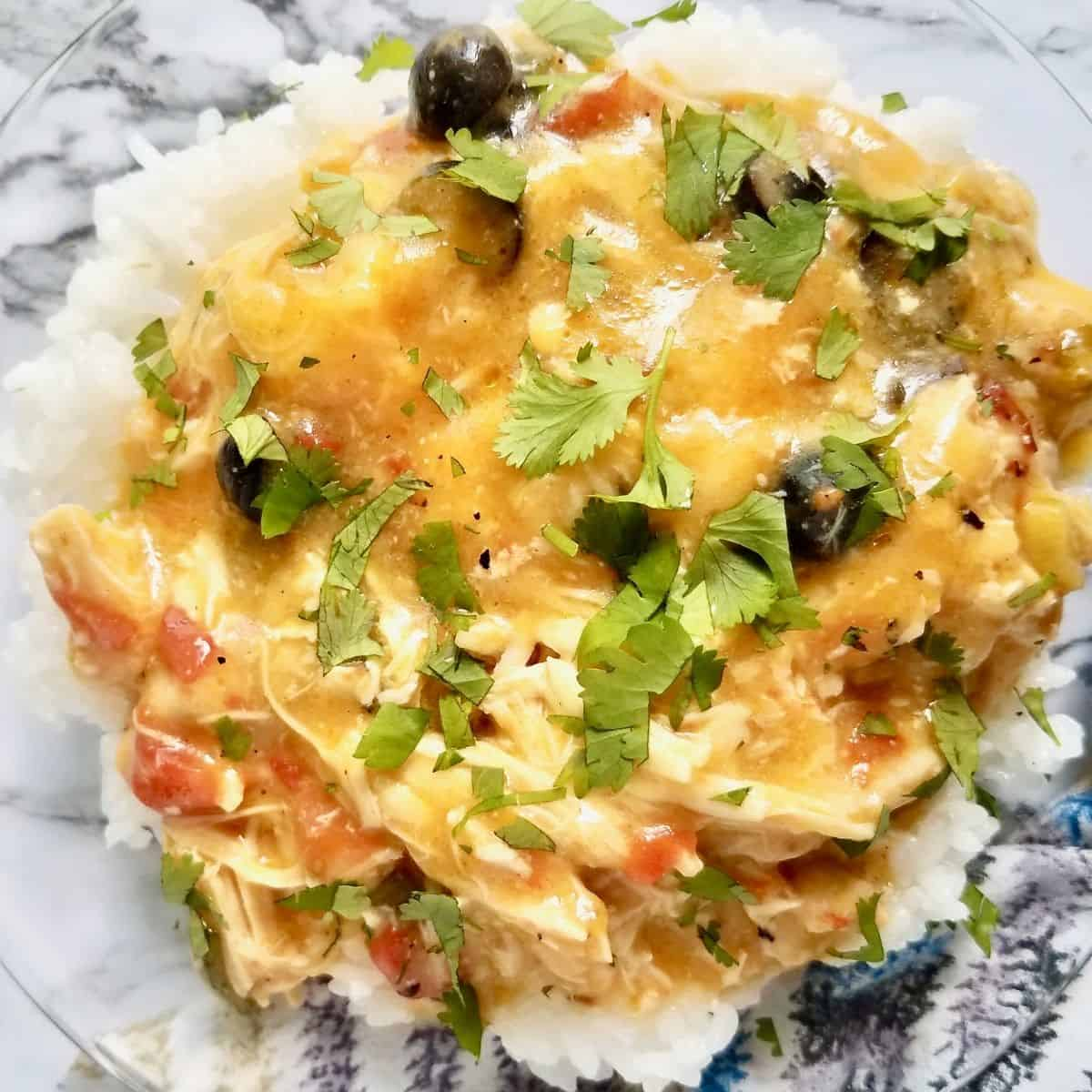Creamy Mexican Chicken Crockpot Recipe