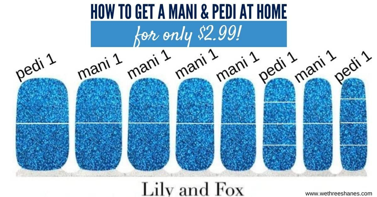 How to Get a Mani and Pedi from One Lily and Fox Nail Set