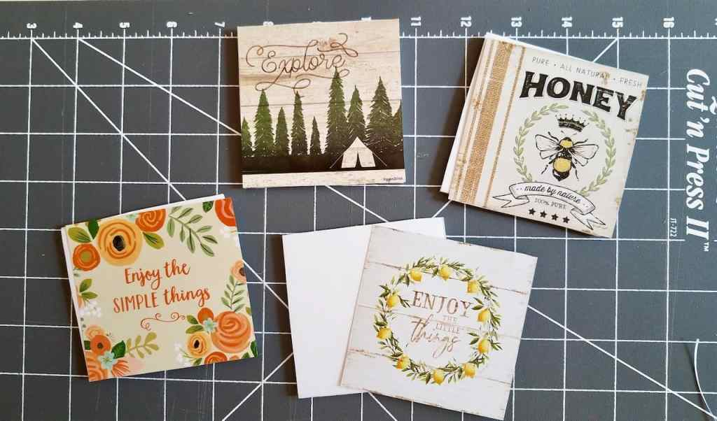 Use a dollar store calendar to make a cute farmhouse frame you can use all year round.