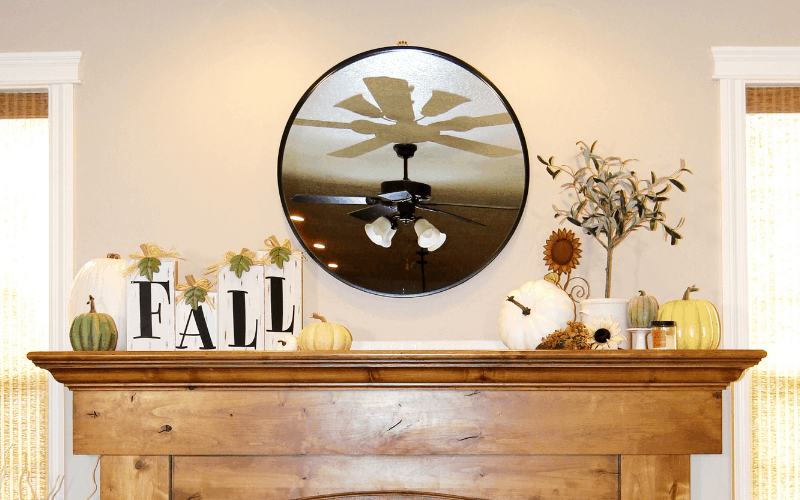 Decorating Your Fireplace Mantel, an Easy How To