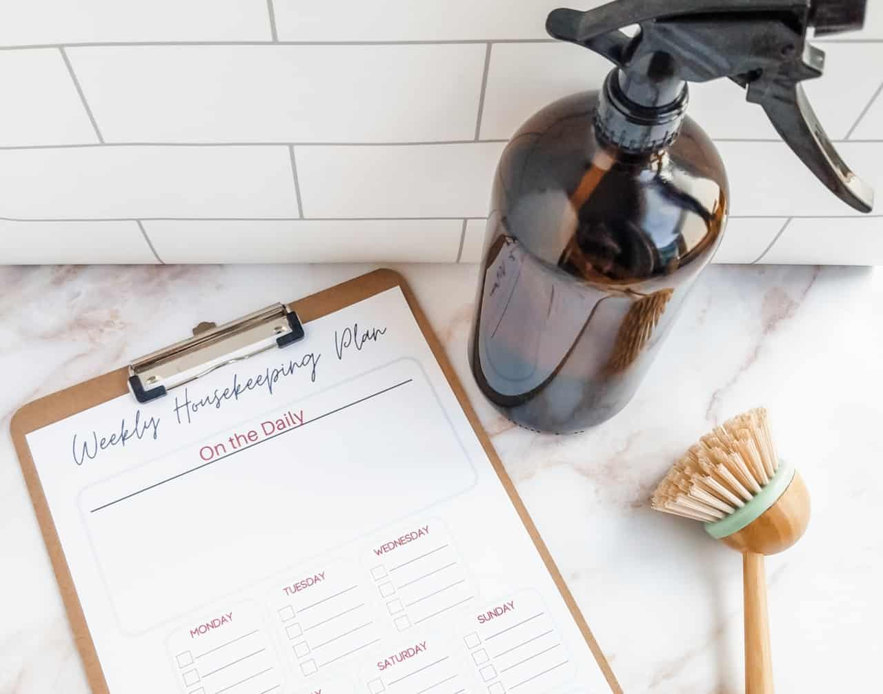 A Realistic Cleaning Schedule Anyone Can Keep