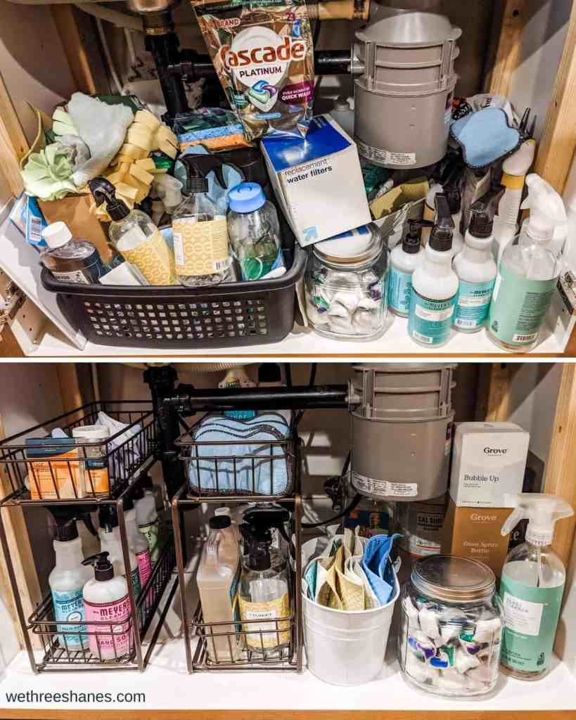 It's amazing what you can declutter and organize in 15 minutes with these quick decluttering tips. | We Three Shanes
