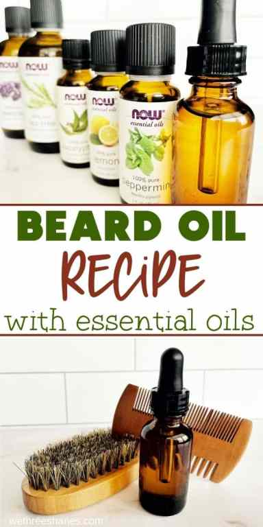 DIY Beard oil is better than store bought stuff because you can customize it to fit your personal needs. It's so easy to make you'll wonder why you didn't do it sooner. | We Three Shanes