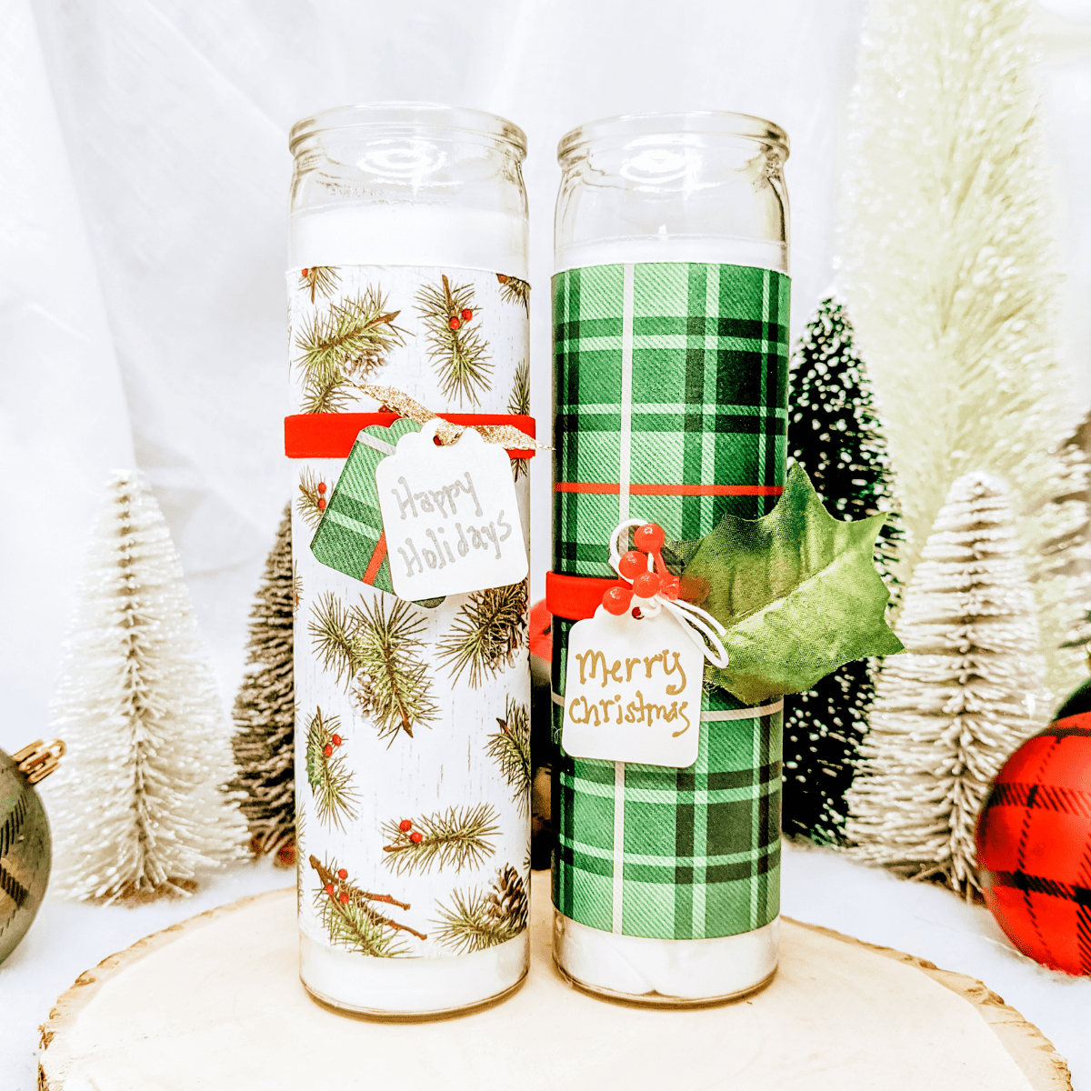 Easy Craft Using Dollar Store Candles