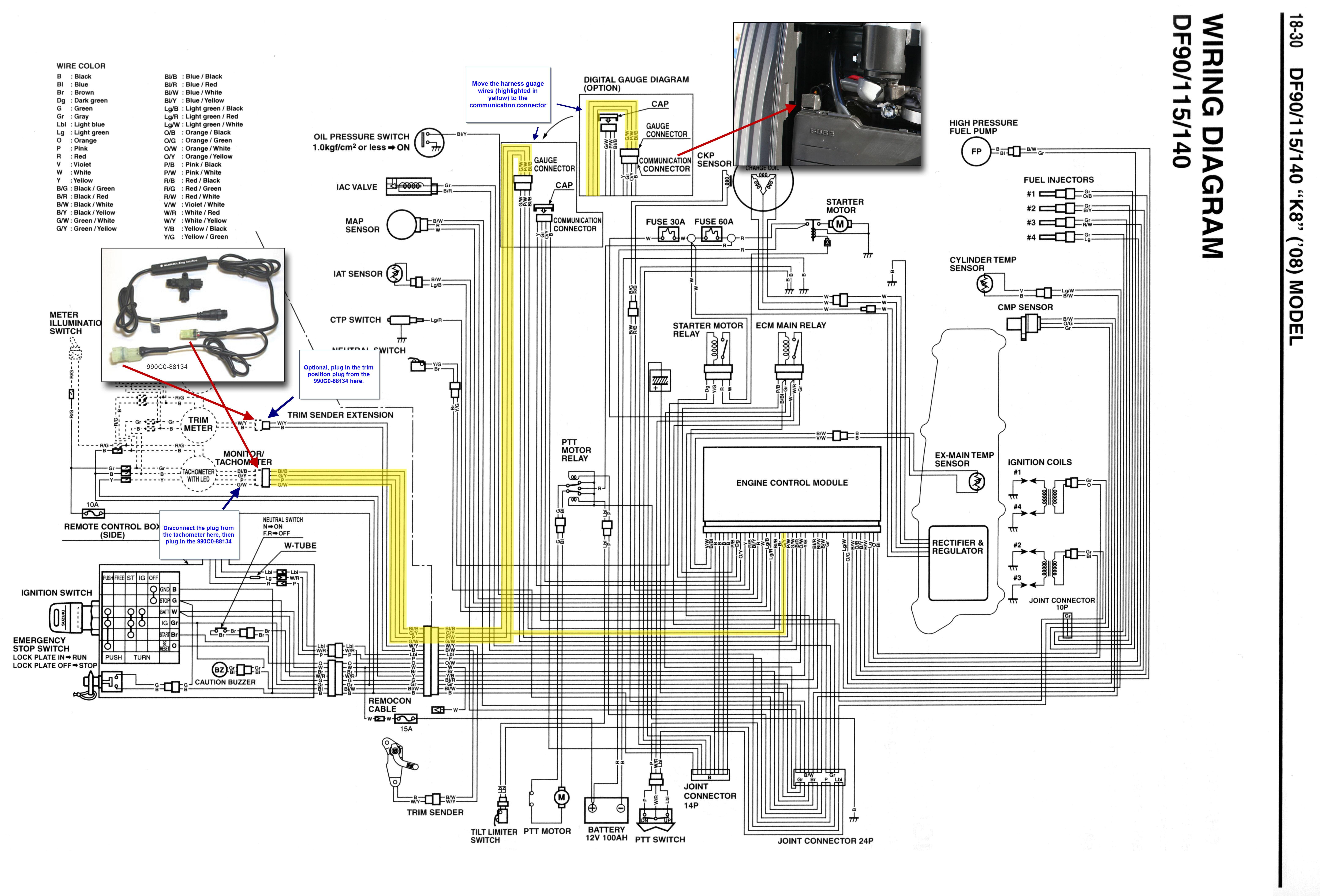 Contemporary Dr350 Suzuki Wiring Diagram Pictures - Diagram Wiring ...