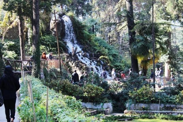 Company garden fall Mussoorie