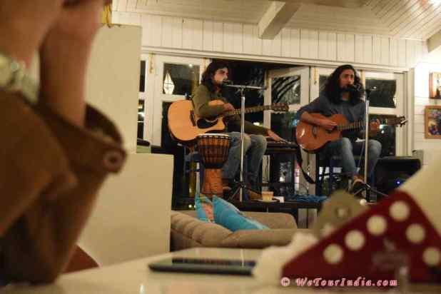 Live concert at Johnson Lodge- Manali