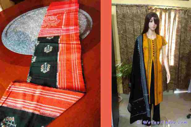 Sambalpur silk sarees and dresses