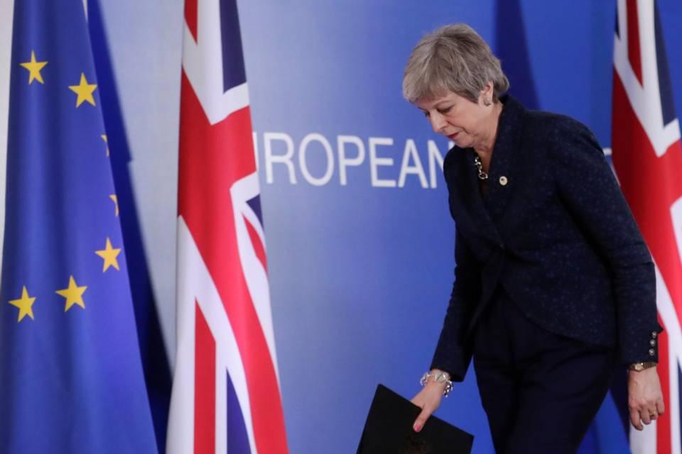 Theresa May a Bruxelles