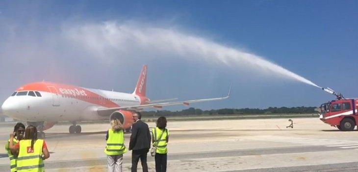Volo inaugurale Ancona Berlino