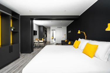 Staycity Mestre - monolocale con sala da pranzo, il letto queen size