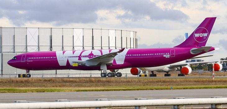 Airbus A330neo ex WOW air a Citilink Garuda