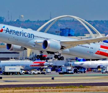 American airlines B787 800