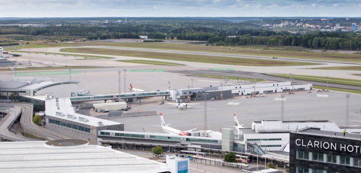 Terminal 3, aeroporto di Stoccolma Arlanda - foto di: Peter Phillips Swedavia