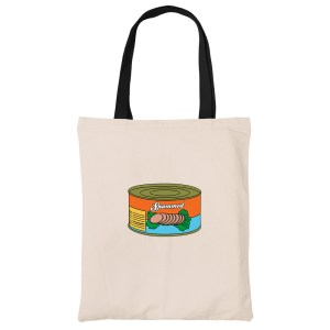Spammed-canvas-heavy-duty-tote-bag-grocery-shopping-carrier
