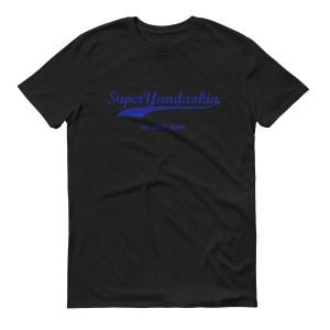 Super Yandaokia black womens t shirt hokkien casualwear singapore singlish online vinyl print shop