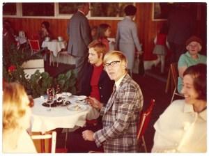 Knut Maurer 1970 in einem Leverkusener Cafe
