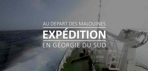 Cover Expedition en géorgie du Sud