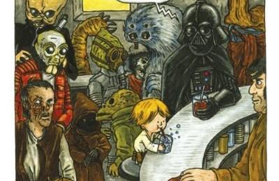Schöner lachen mit Darth Vader!