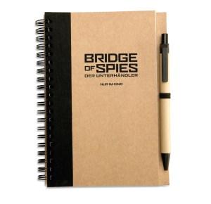 BridgeOfSpies_Notizbuch_MUP