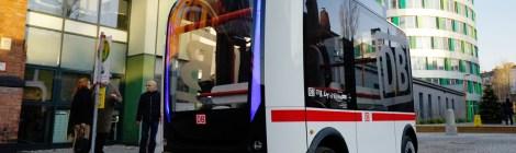 """""""Erstes autonomes Fahrzeug im deutschen Straßenverkehr"""""""