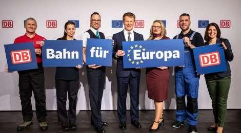 """""""Bahn für Europa"""" (Werbung)"""
