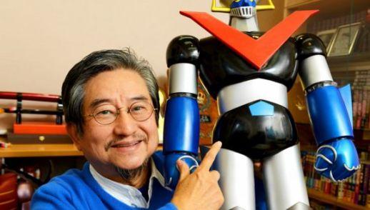 "Go Nagai, creatore di tanti cartoni animati a tema ""mecha"""