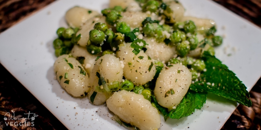 Gnocchi With Spring Peas