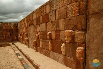 Tiwanaku ruler heads.