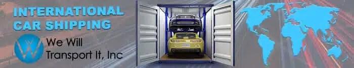 International Car Shipping, International Car Transport international car shipping