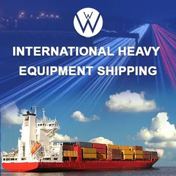 International Heavy Equipment Shipping, we will transport it international heavy equipment shipping