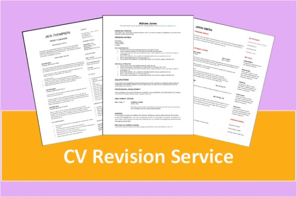 Cv Revision Service woo commerce
