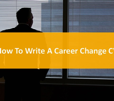 Write a career change cv