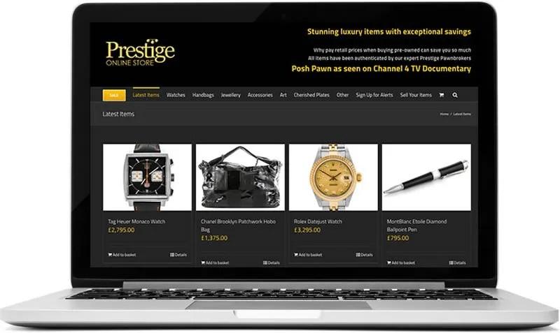 e-commerce site in Surrey