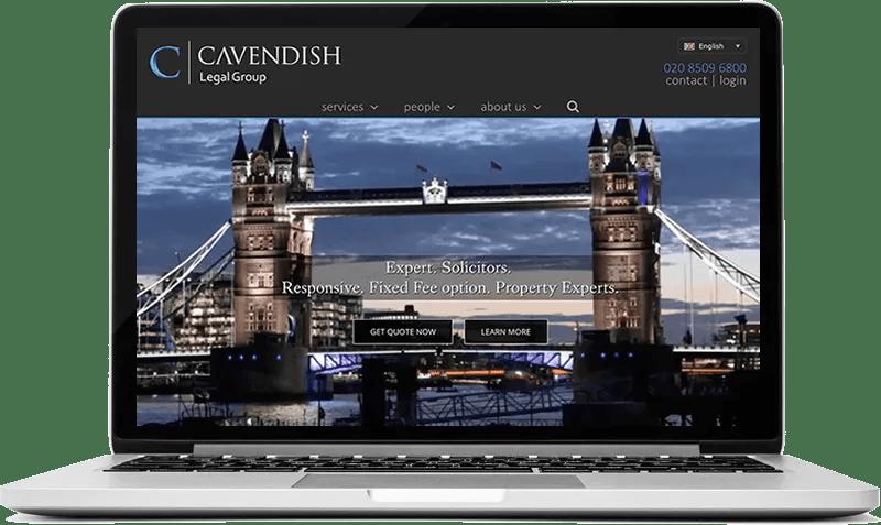 Solicitors Website in London