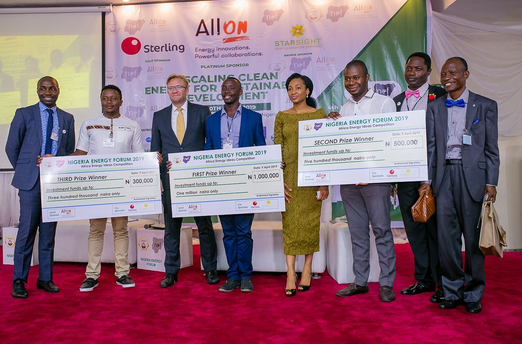 WEYE wins the 2019 Africa Energy Innovation competition.