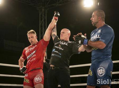 Mike Azab vs Luka Podkrajsek - WFC, World Freefight Challenge Slovenia