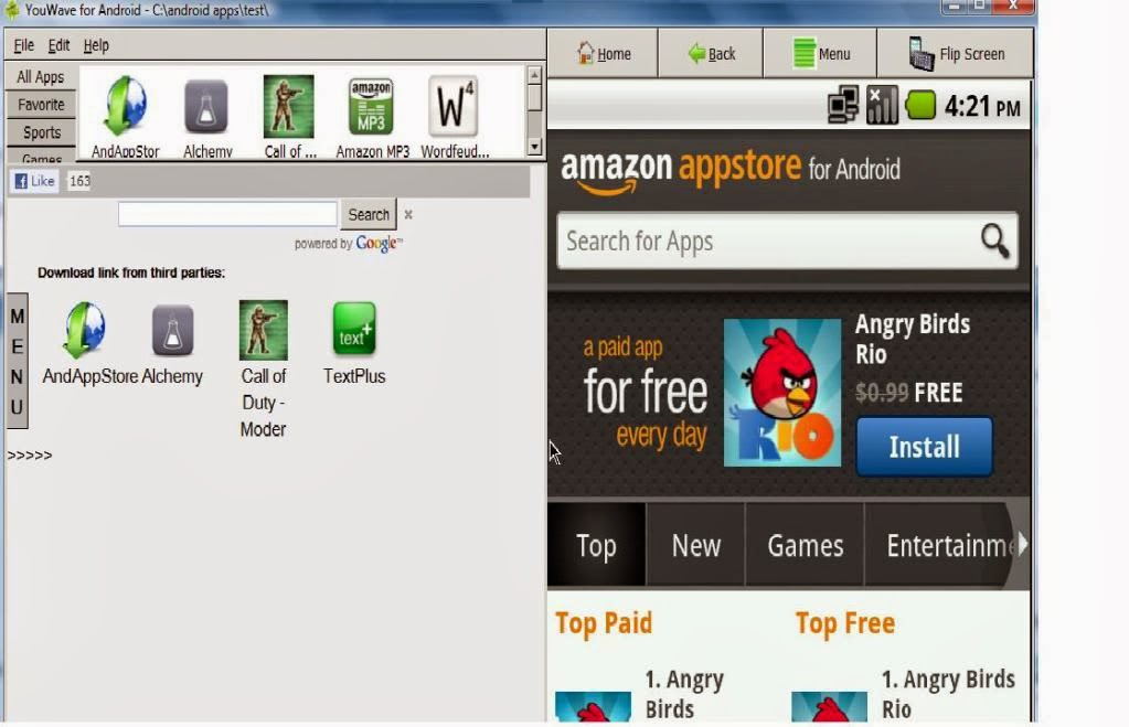 Download Crack YouWave 4.1.2 Android on Windows PC