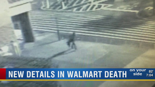 Video shows what happened during Walmart shoplifting death