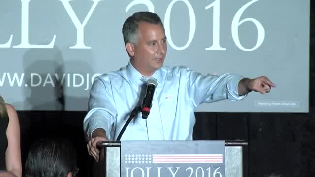 RAW VIDEO: David Jolly speaking at watch party after Senator Marco Rubio wins re-election