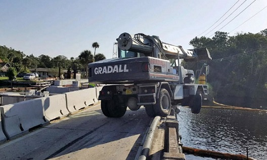 Halls River Bridge in Citrus County temporarily closed after