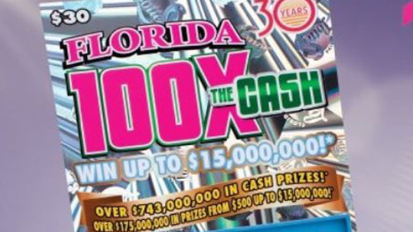 Florida teen wins whopping $15 million in Lottery scratch-off game