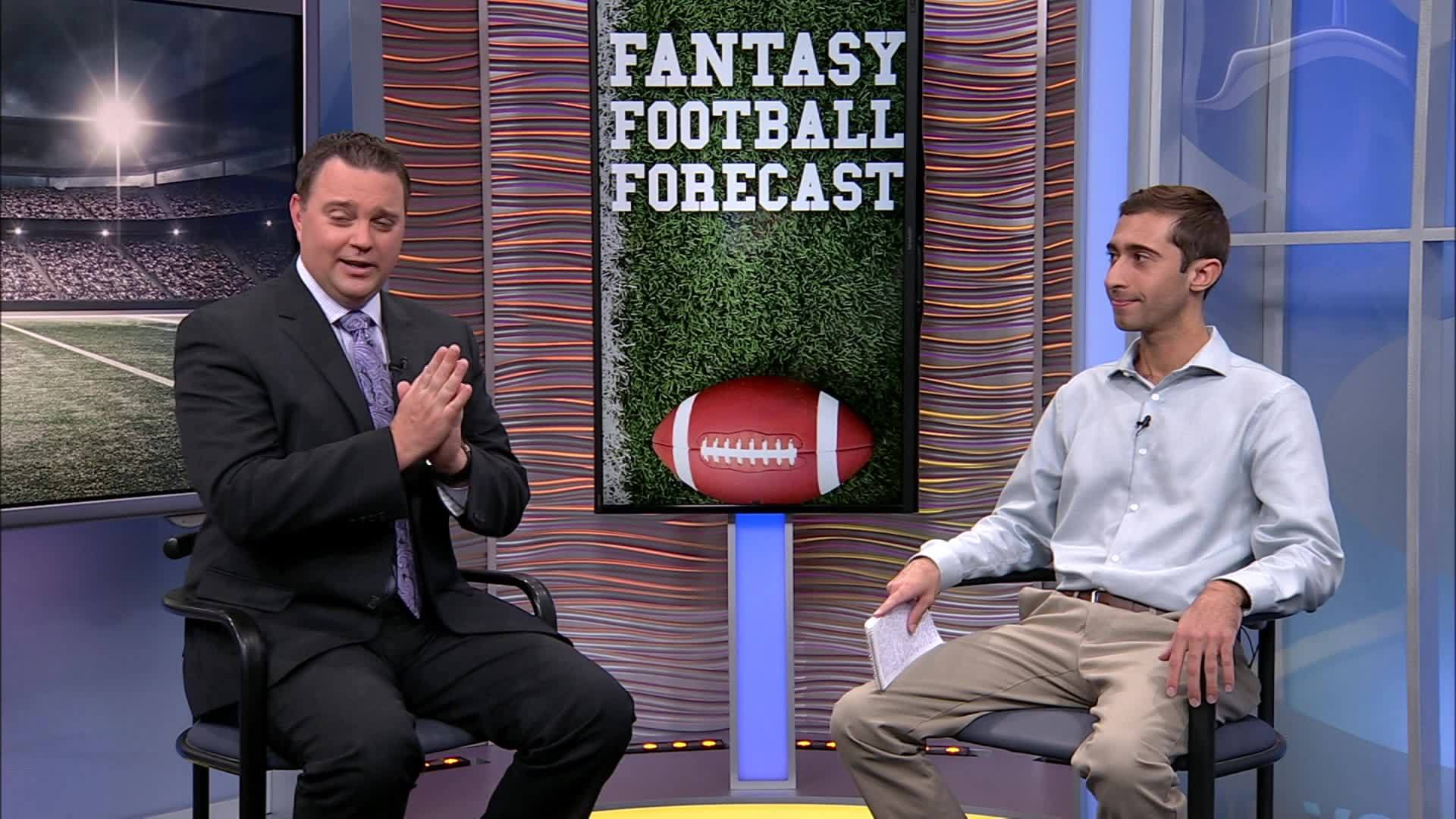 Thanksgiving games play a big role in the Fantasy Football Forecast