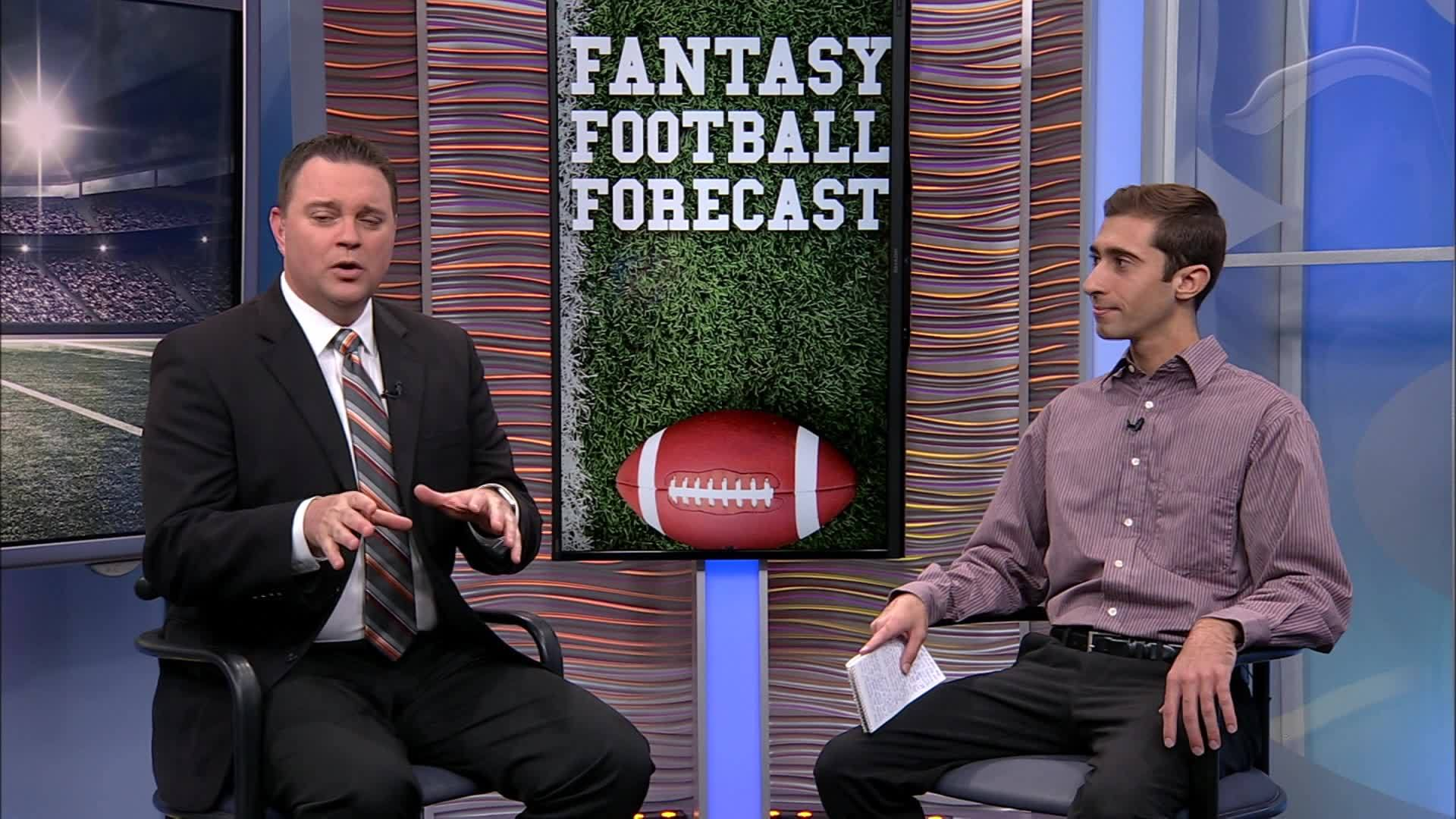 Championship games in sight on the Fantasy Football Forecast