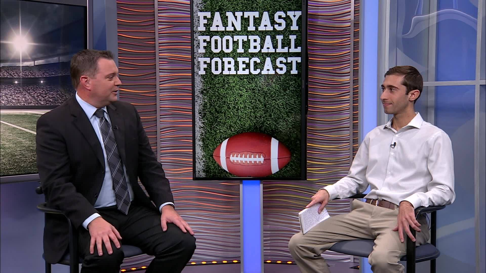It is playoff time on the Fantasy Football Forecast