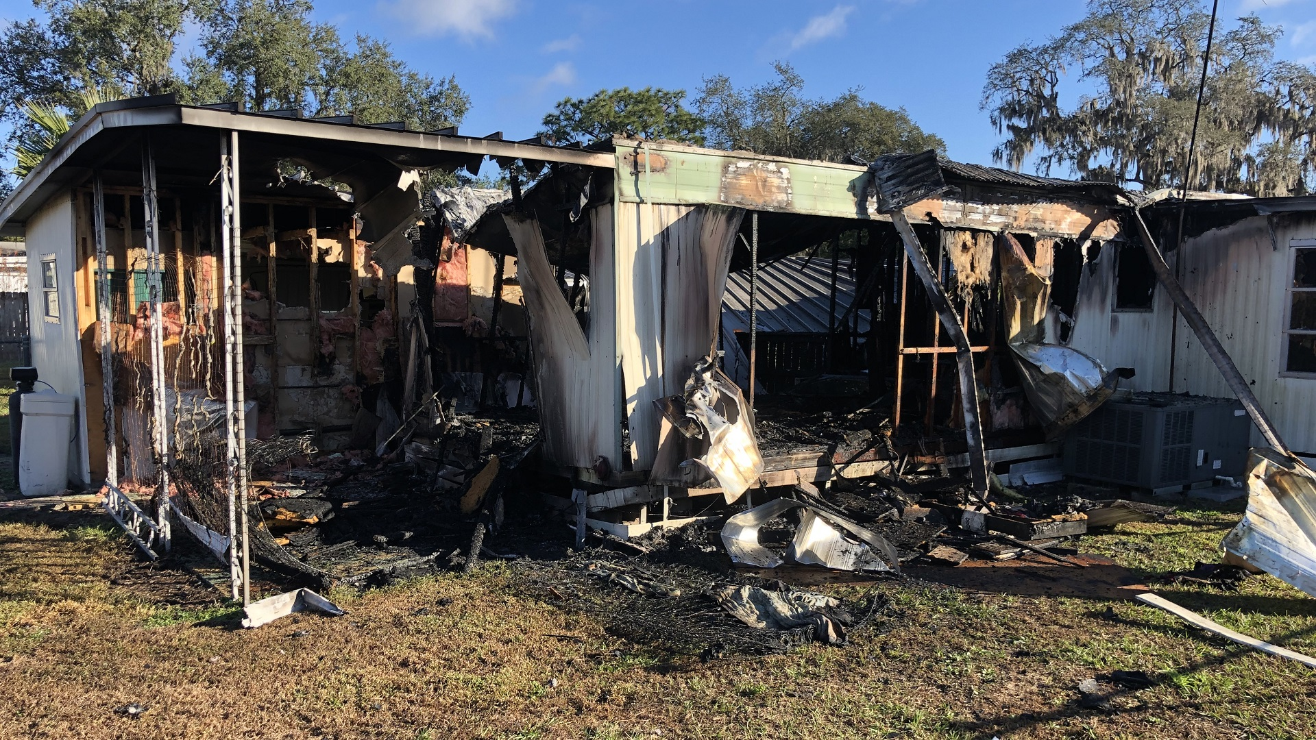 Space heater sparked fire that destroyed Zephyrhills mobile